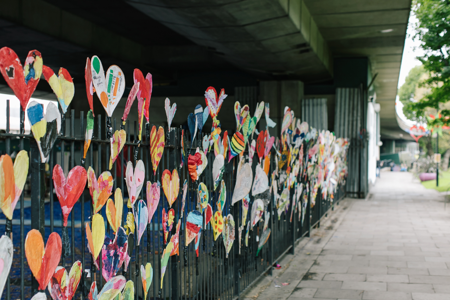 #24Hearts Grenfell Tribute