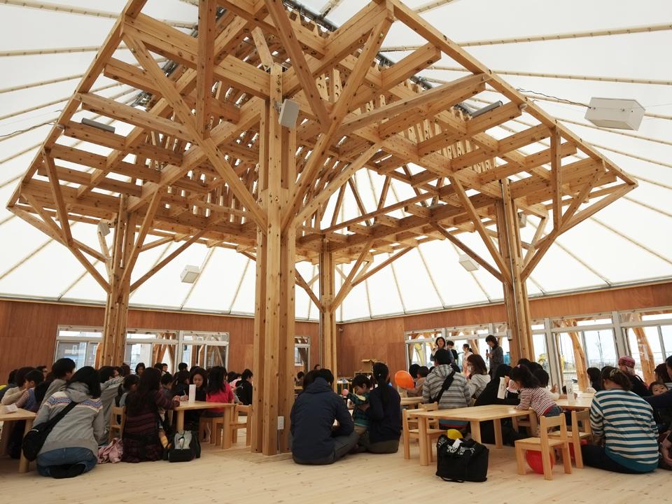 Mitazono Wakaba Kindergarten, Japan / Tohoku Earthquake Tsunami rebuild